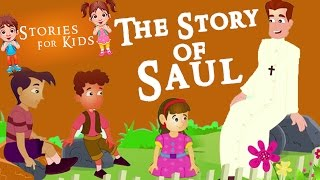 Kids Stories Short Kids Stories | Bedtime Stories For Kids The Story of Saul Part 2 English Stories