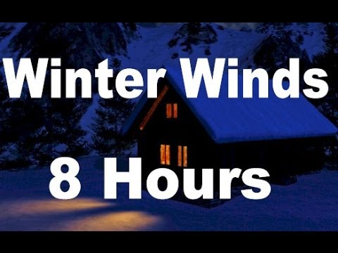 Winter Wind : Relaxing Nature Sounds for Sleep  8 Hours Long