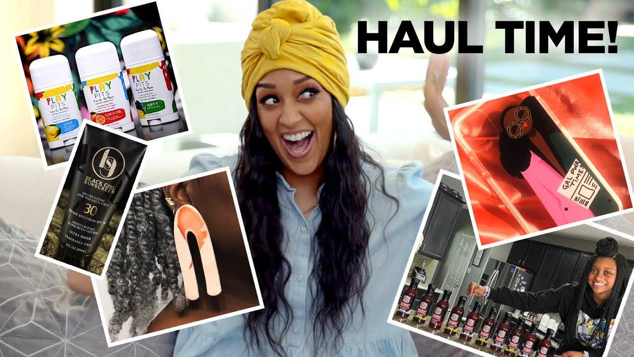 Tia Mowry's Black Owned Business Haul