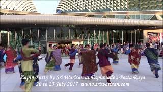 Sri Warisan's Zapin Party at Esplanade's Pesta Raya 20 to 23 July 2017