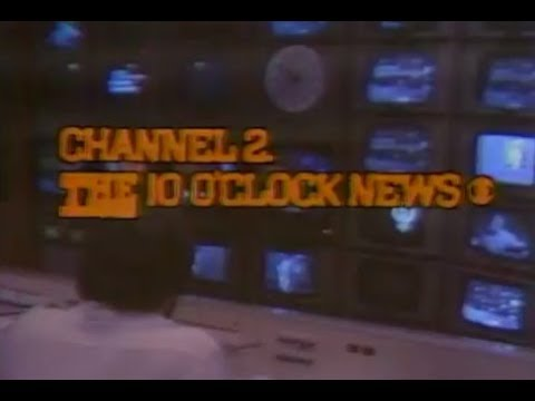 WBBM Channel 2 - THE 10 O'Clock News (Complete Broadcast, 6/5/1978)
