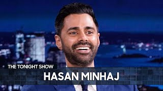 Hasan Minhaj's Mom Helped Him Audition for The Morning Show | The Tonight Show Starring Jimmy Fallon