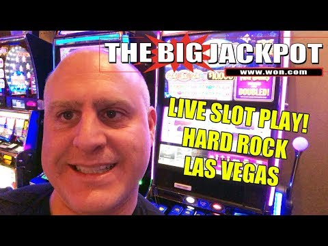 🔴 Live Slot Play from Hard Rock Casino Las Vegas 🎰 | The Big Jackpot