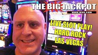 🔴 Live Slot Play from Hard Rock Casino Las Vegas 🎰   The Big Jackpot