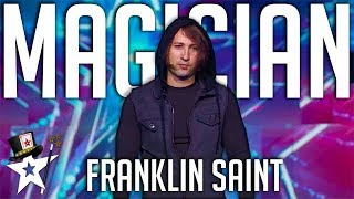 Illusionist Demonstrates the Impossible on America's Got Talent | Magicians Got Talent