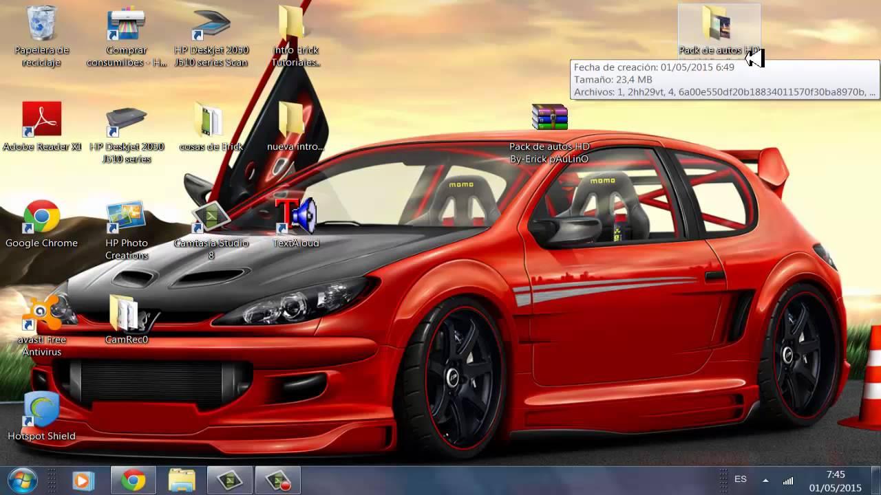 Imagenes De Autos Para Fondo De Pantalla En 3d: Descargar Pack De Autos HD Para Fondo De Escritorio