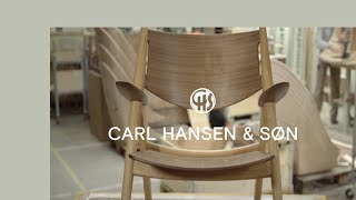 Ch28 Lounge Chair By Hans J. Wegner