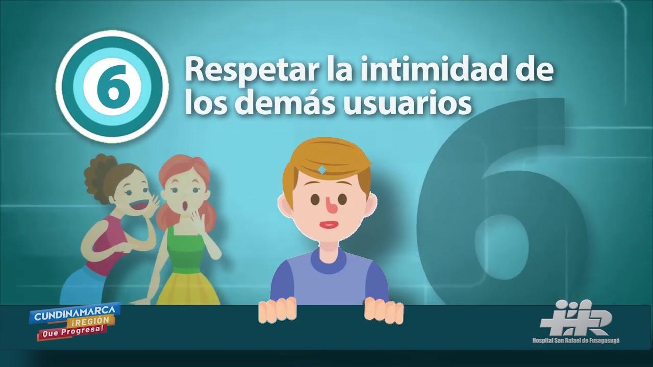 DEBERES DE LOS USUARIOS HSRF 2020