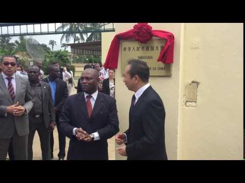 ​Chinese Embassy re-inaugurated in São Tomé and Príncipe