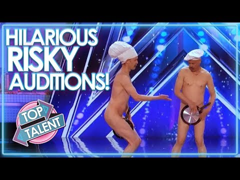 HILARIOUSLY Risky Auditions On Got Talent! | Top Talent
