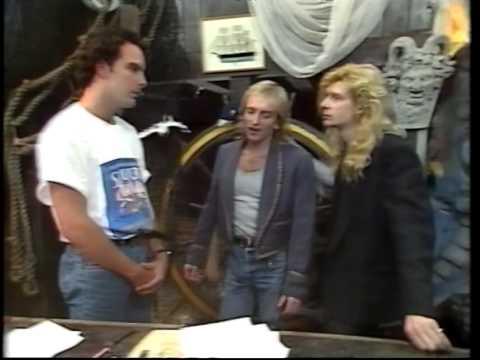 Def Leppard - Australian Interview (1988)