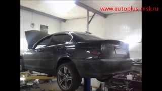 Ремонт и замена катализаторов BMW 325 e46 на пламегаситель