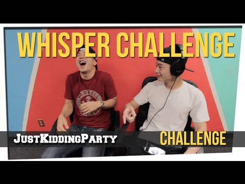 Whisper Challenge ft. Joe Jo & Brandon Choi