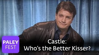 Castle - Is Nathan Fillion a Better Kisser than Jon Huertas?