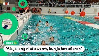 1200 kinderen krijgen opfris lesje zwemmen