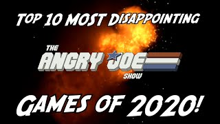 Top 10 MOST DISAPPOINTING Games of 2020!