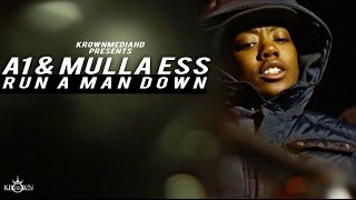 a1 ft mulla ess run a man down music video   krownmedia