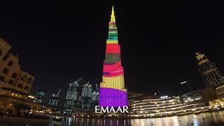 Burj Khalifa LED Show