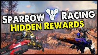 Destiny: New Sparrow Patrol Lap Race Mission with Tier Levels! (Possible Hidden Rewards)