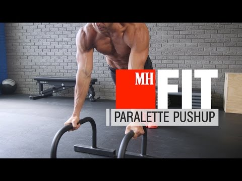Paralette Pushup
