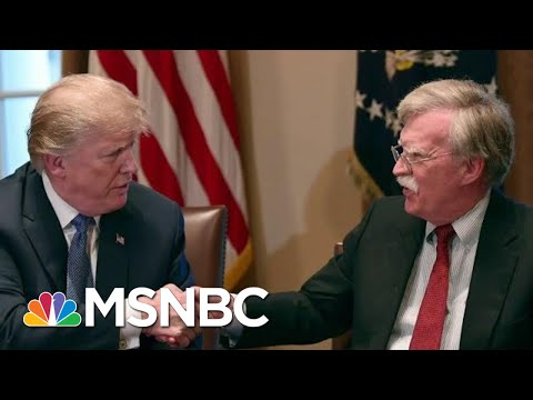 Controversial Trump Aide John Bolton Exits WH Knocking Trump   The Beat With Ari Melber   MSNBC
