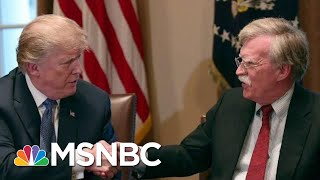 Controversial Trump Aide John Bolton Exits WH Knocking Trump | The Beat With Ari Melber | MSNBC
