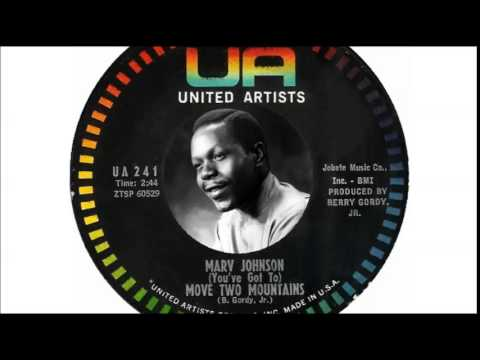 Marv Johnson - You've Got To Move Two Mountains ...