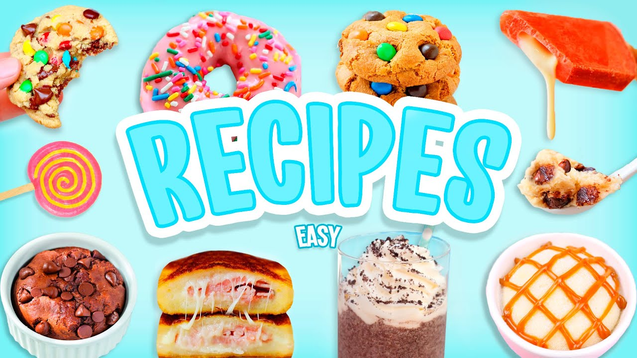 8 Easy & Quick Recipes You NEED to Try When You're Bored At Home