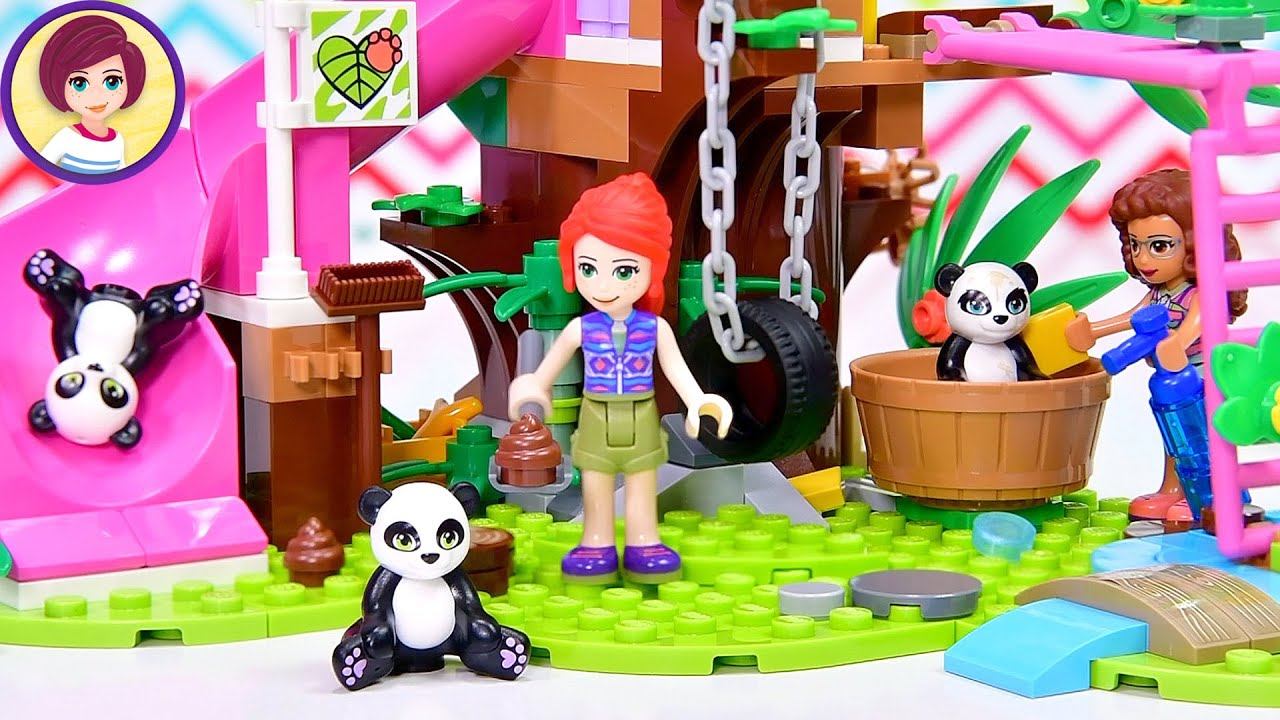 Another jungle set with an exclusive panda 🐼 - Lego Friends Panda Jungle Treehouse build & review