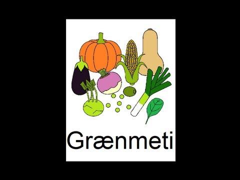 Icelandic Lesson #38: Vegetables Part 2 - Singular and Plural, Pronunciation