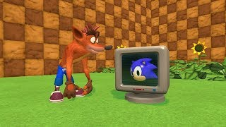 What If Crash Bandicoot Was In Sonic?