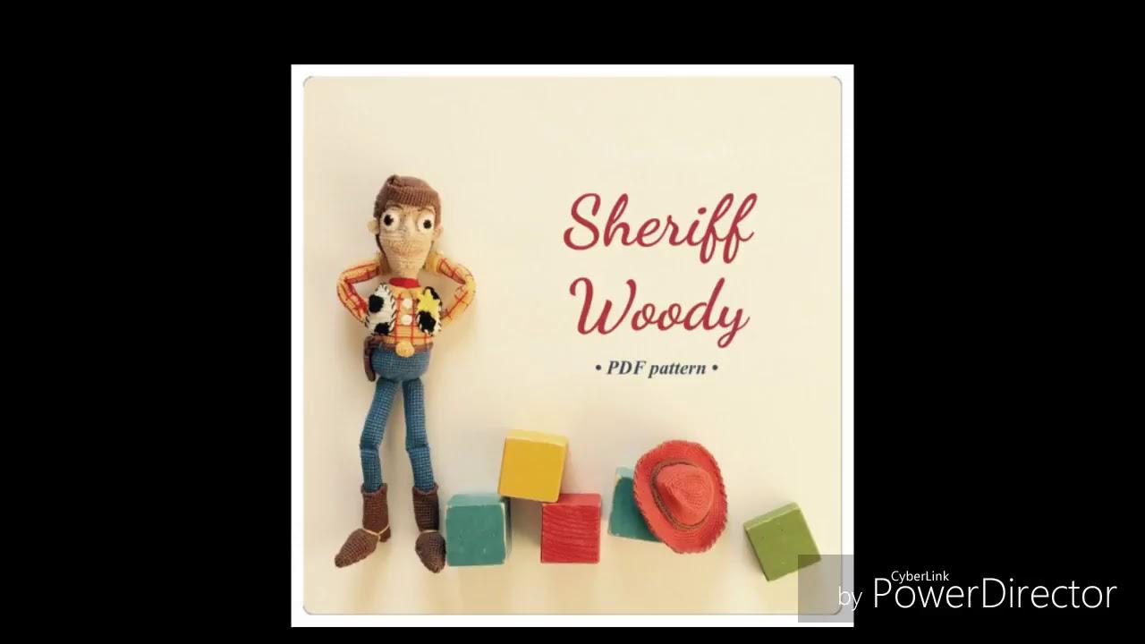 Toy Story crochet - Woody, Jessie & Buzz | Brinquedos de crochê ... | 720x1280