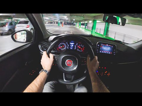 Fiat Tipo Night | 4K POV Test Drive #377 Joe Black