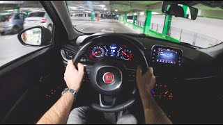 Fiat Tipo Night | 4K POV Test Drive #377 Joe Black