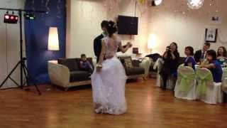 Первый танец молодых (свадьба Кати и Кирилла)