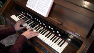 Trust and Obey - Hymn - Berlin Reed Organ