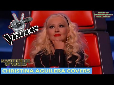 CHRISTINA AGUILERA'S SONGS AUDITIONS ON THE VOICE [REUPLOAD]