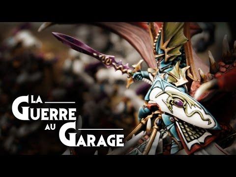 - La Guerre au Garage N°6 - Rapport de bataille warhammer Hauts Elfes vs Elfes Noirs