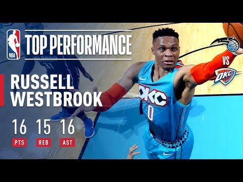 Russell Westbrook Records His 7TH STRAIGHT Triple-Double | February 5, 2019