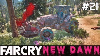 FAR CRY New Dawn Gameplay PL [#21] TRAKTOR Zmieli KAŻDEGO /z Skie