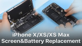 Repair Shop Tips   iPhone X/XS/XS Max Screen and Battery Replacement