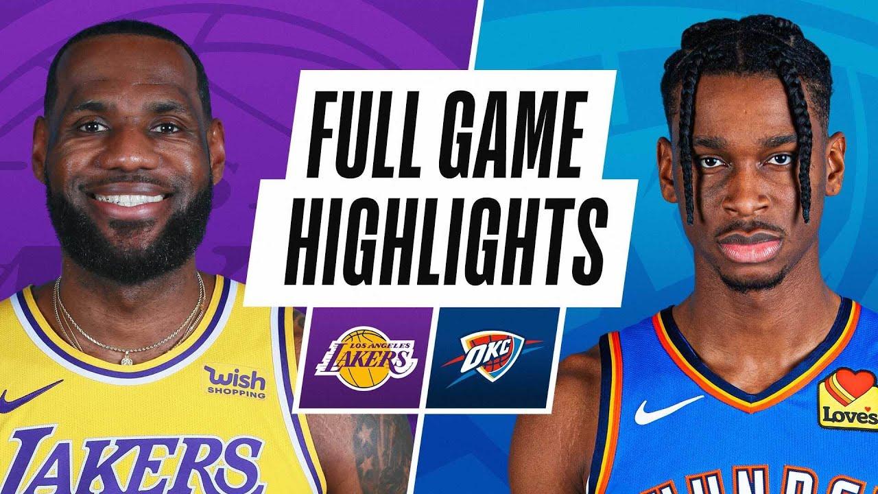 LAKERS at THUNDER   FULL GAME HIGHLIGHTS   January 13 2021 – NBA