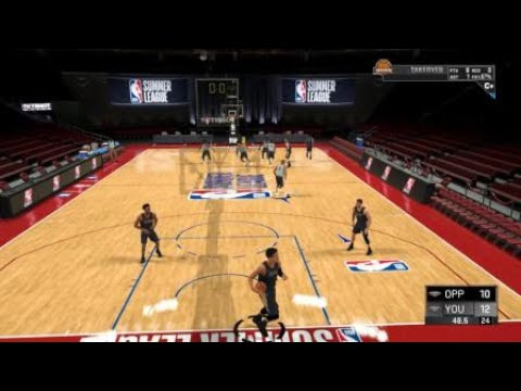 NBA 2K20 Monster Uber Athletic Tomahawk Posterizer Dunk In Career Summer League