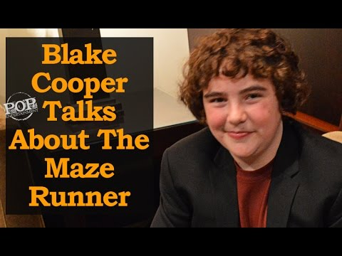 Blake Cooper  About The Maze Runner