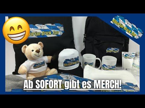 Bavarian Brick Fan Merch ist ab sofort erhältlich!😁 | Merchandise Unboxing