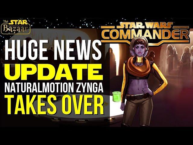 Star Wars Commander HUGE NEWS UPDATE   NaturalMotion Zynga Takes Over