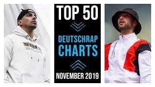 TOP 50 DEUTSCHRAP CHARTS ♫ NOVEMBER 2019