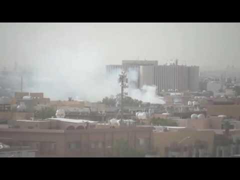 Fire at Malaz Area Riyadh Saudi Arabia