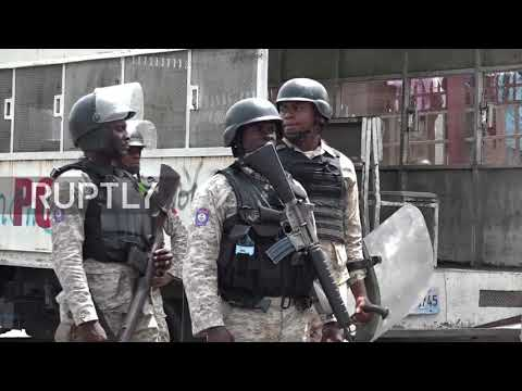 Haiti: Clashes break out during anti-government protests in Port-au-Prince
