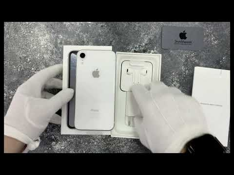 Распаковка Apple IPhone XR (White) от компании ЭплМания